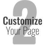 Step 2: Customize Your Page