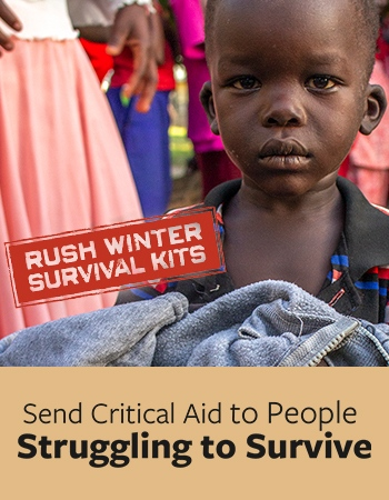 Send Critical Aid to People Struggling to Survive