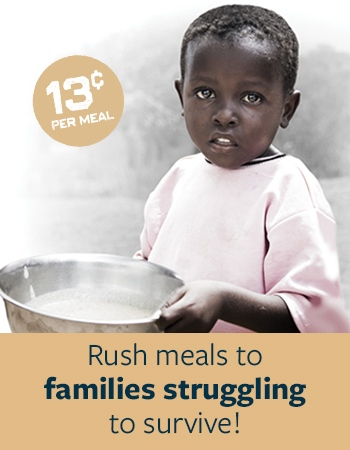 Rush Meals to Families Struggling to Survive
