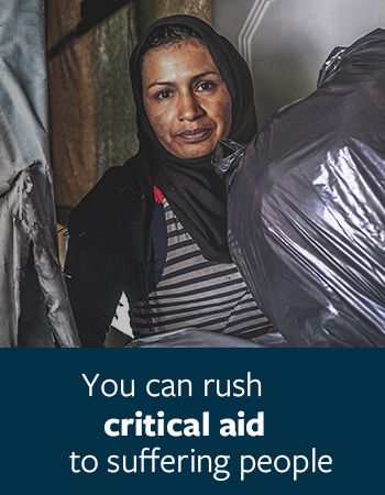 You Can Rush Critical Aid to Suffering People